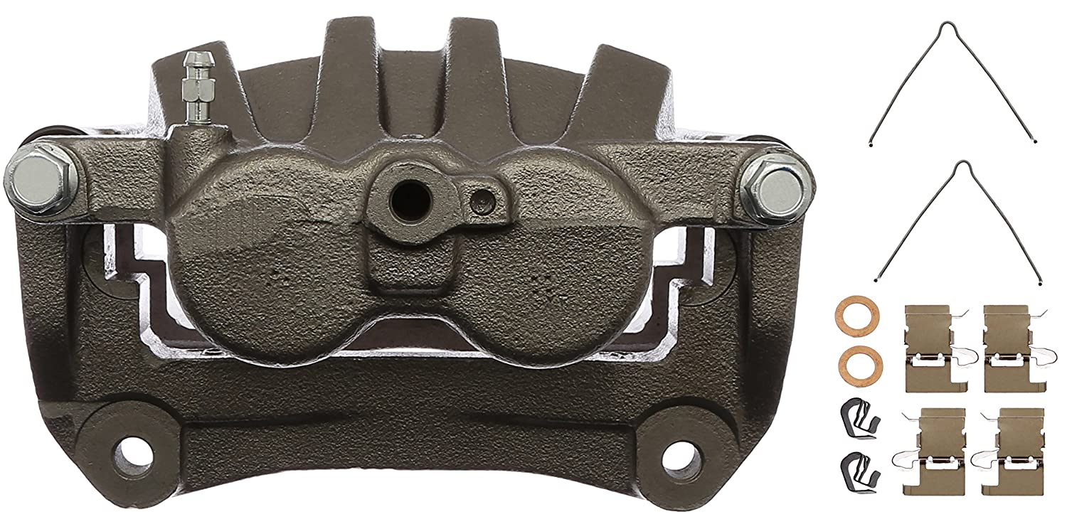 Remanufactured ACDelco 18FR11973 Professional Front Driver Side Disc Brake Caliper Assembly without Pads