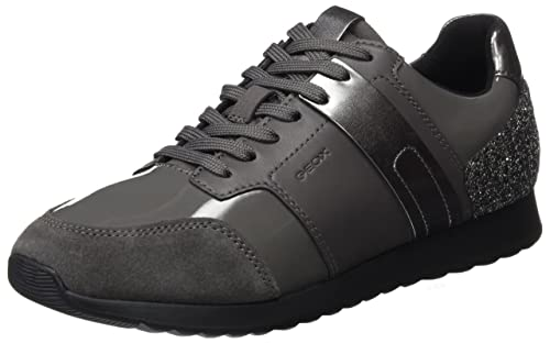3dca6450 Geox D Deynna D, Zapatillas para Mujer, Gris (Dk Grey), 35 EU: Amazon.es:  Zapatos y complementos