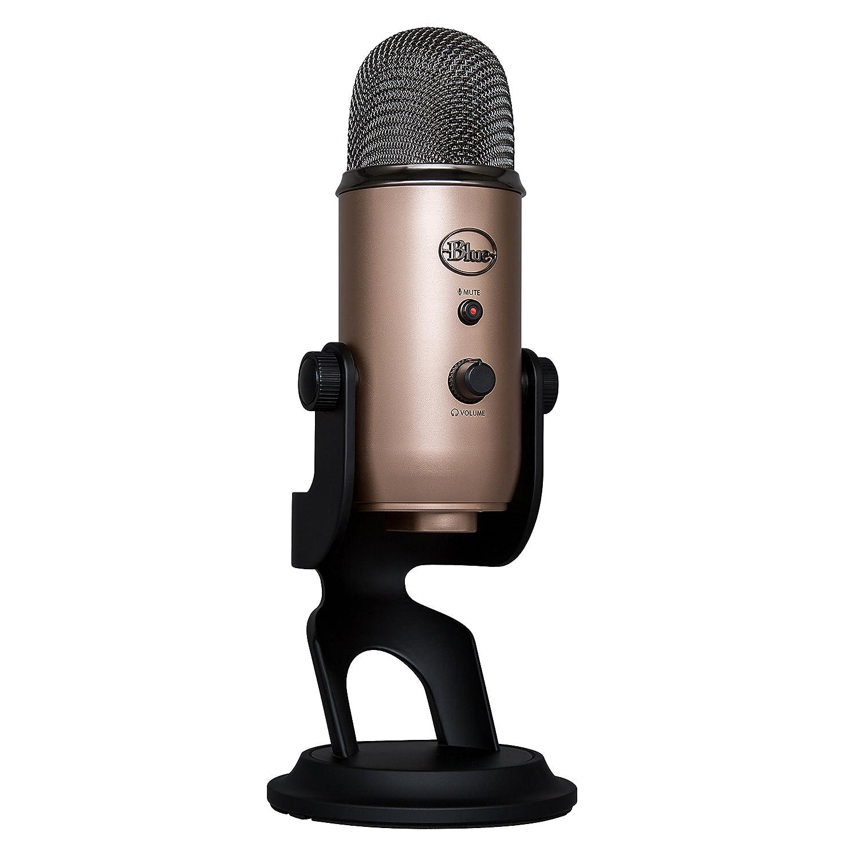 Microfono Condensador Usb Blue Yeti Aztec Copper (Xmp)