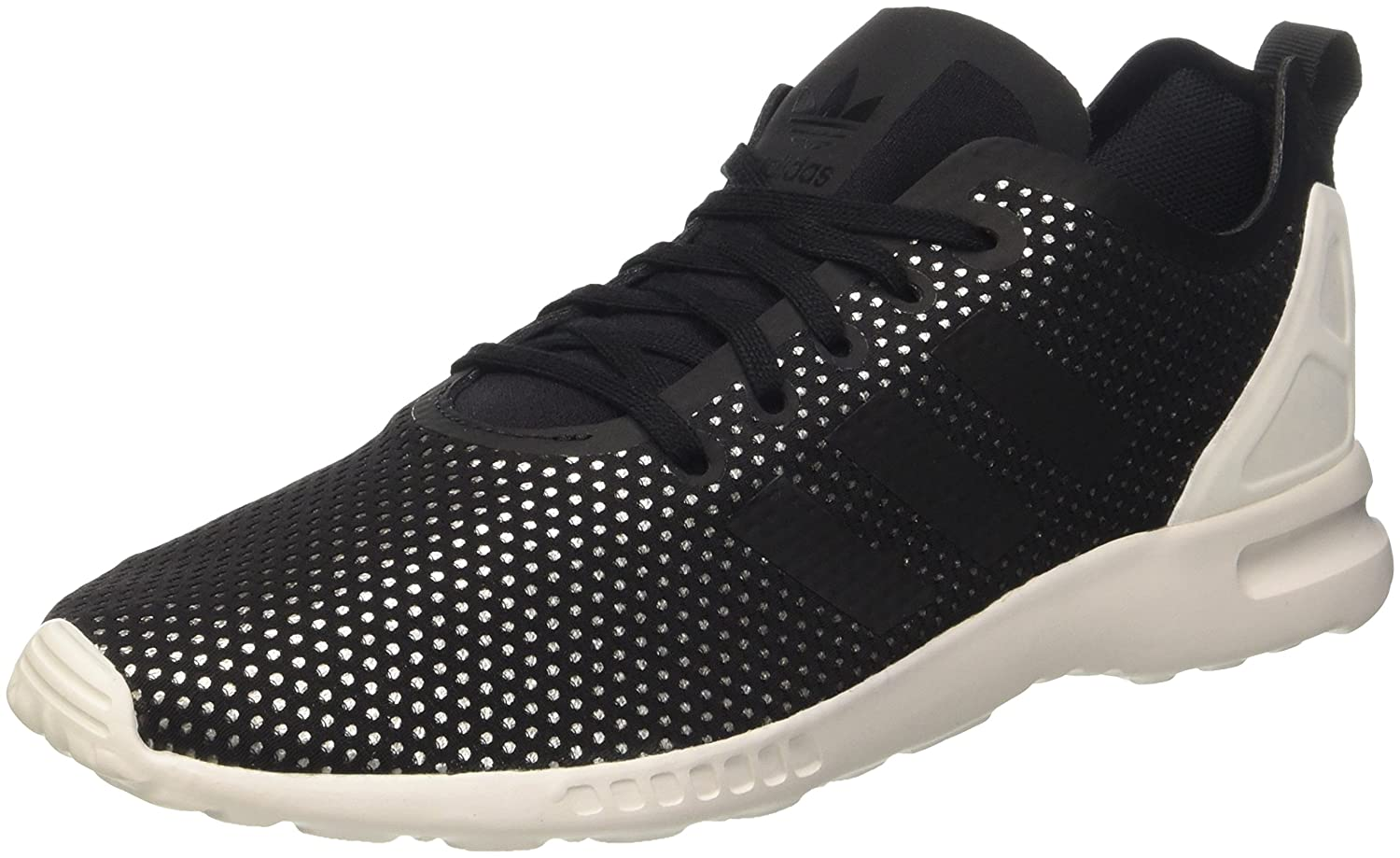 adidas Damen ZX Flux ADV Smooth W Sneakers  36 2/3 EU|Schwarz (Core Black/Core Black/Core White)