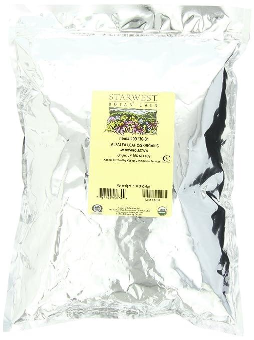 Alfalfa Leaf C/S Organic - Starwest Botanicals
