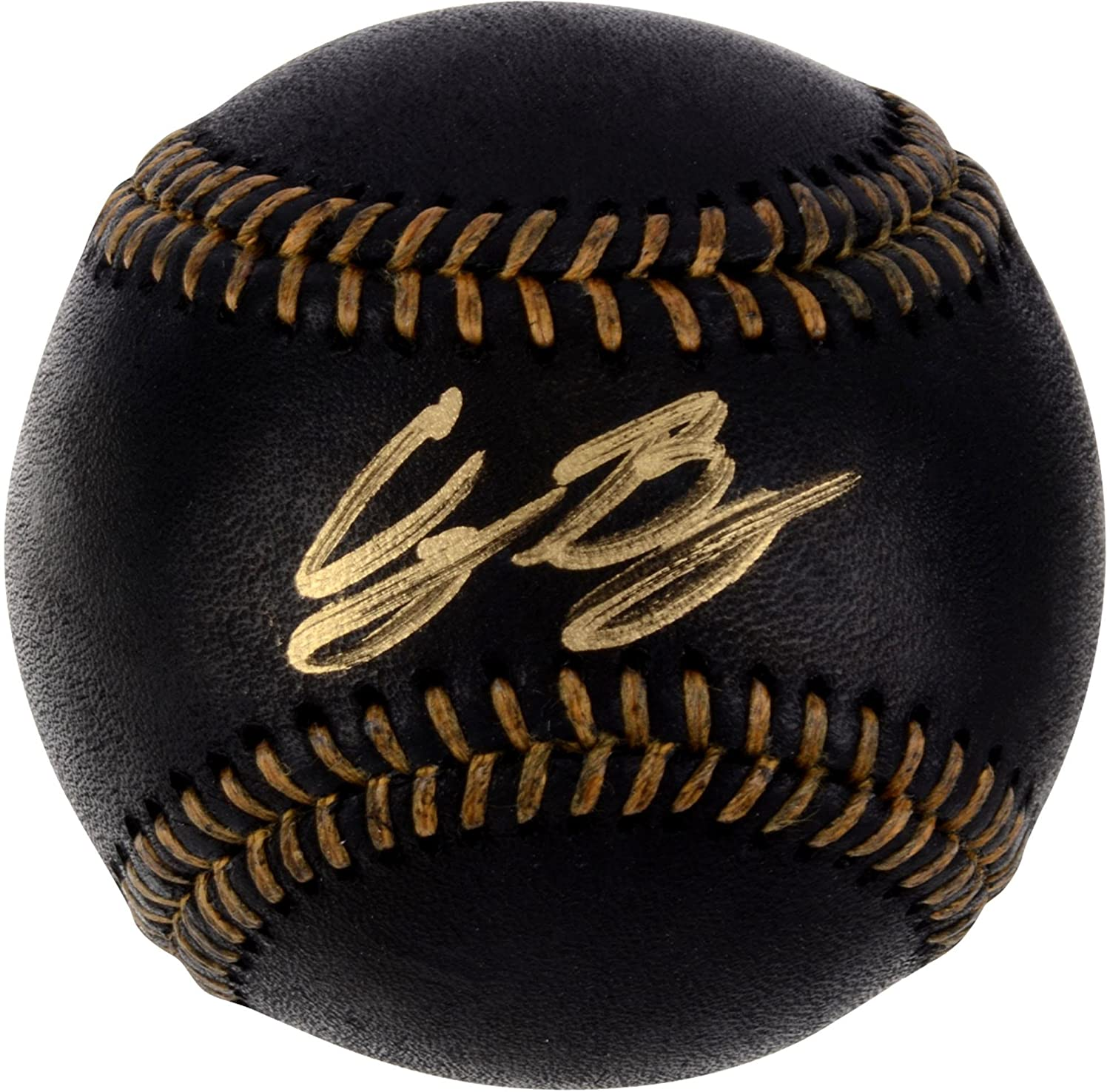Cody Bellinger Los Angeles Dodgers Autographed Black Leather Baseball - Fanatics Authentic Certified
