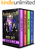 The Annihilation Saga Boxset-books 1-4.