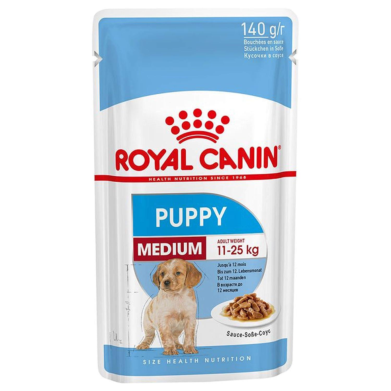 ROYAL CANIN Wet Medium Puppy Junior 40 x 140g