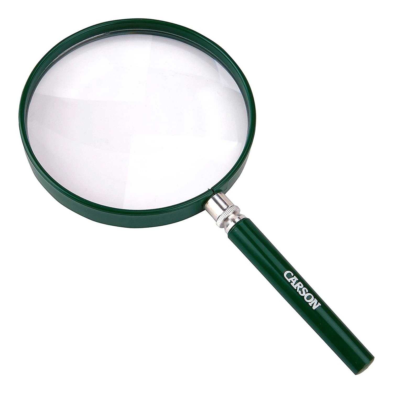 Carson Bigeye Magnifiers with Oversized 5.0 inch Distortion Free Lens for Reading Inspection Exploring Hobby Crafts and Tasks HU 20 HU 20AMMU