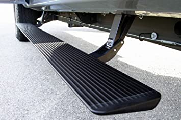 Electric Running Boards >> Amp Research 75113 01a Powerstep Electric Running Boards For 1999 2006 Silverado Sierra 1500 2500 3500 Extended Crew Cabs 1999 2006 Denali 2007