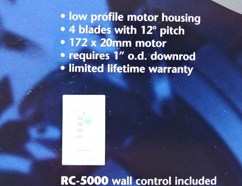 Kendal iluminación ac9552 bal órbita – Ventilador de techo
