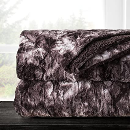 Amazon Italian Luxury Egyptian Luxury Super Soft Faux Fur Throw Mesmerizing Italian Throw Blanket