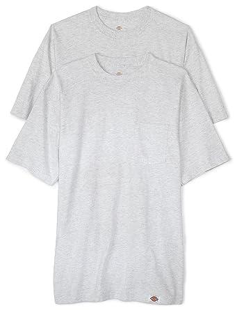 5c060f09 Amazon.com: Dickies Men's Big Short Sleeve Pocket T-Shirt 2-Pack ...