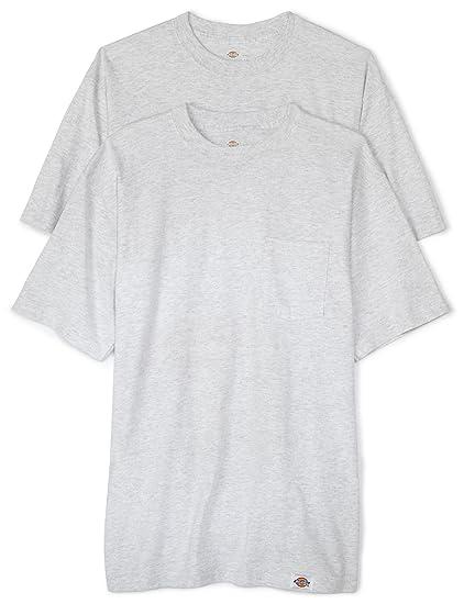 1007f119a765 Amazon.com  Dickies Men s Big Short Sleeve Pocket T-Shirt 2-Pack ...