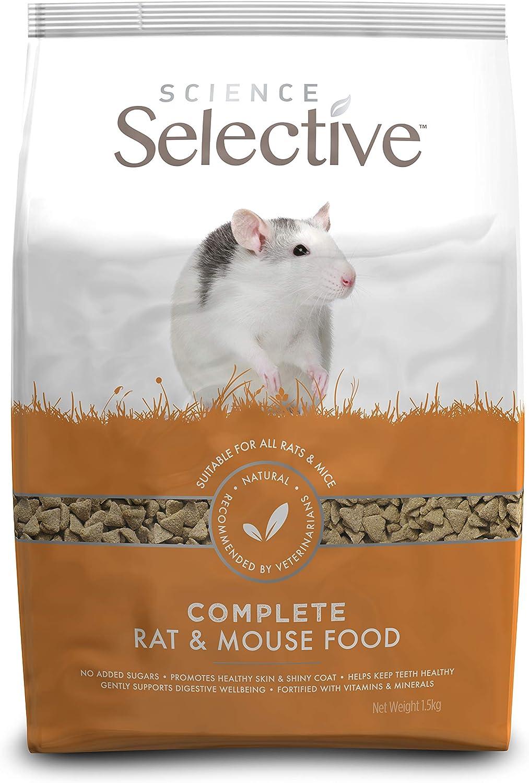 Supreme Petfoods Science Selective - Alimento para Ratas (1,5 kg)