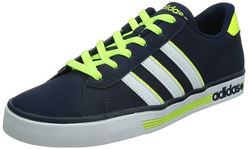 7bb0777a adidas Daily Team - Zapatillas Deportivas para Hombre, Color Azul  Marino/Blanco/Lima, Talla 41 1/3: Amazon.es: Zapatos y complementos