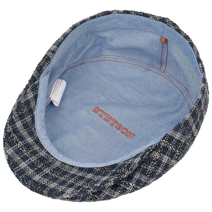 9533c151 Stetson Kent Millbury Check Flat Cap hat Ivy: Amazon.co.uk: Clothing