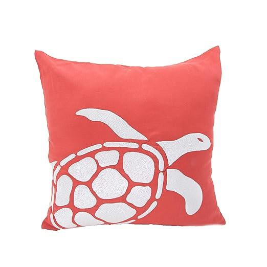 Manta, diseño de tortuga, funda de almohada, funda de ...