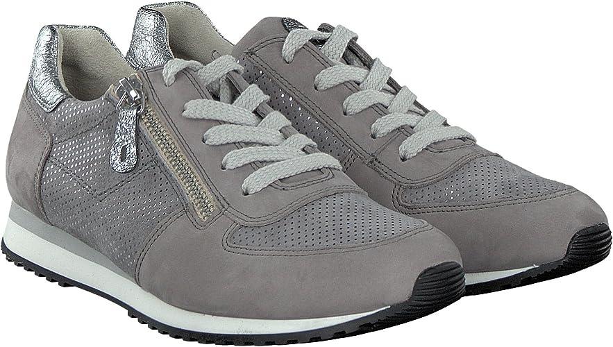 Paul Green Damen Schnuerschuhe Sneaker 4252 402 grau 445914