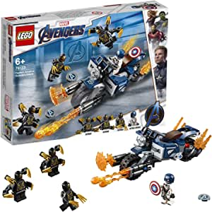 LEGO Marvel Avengers Captain America: Outriders Attack 76123 Building Kit, New 2019 (167 Pieces)