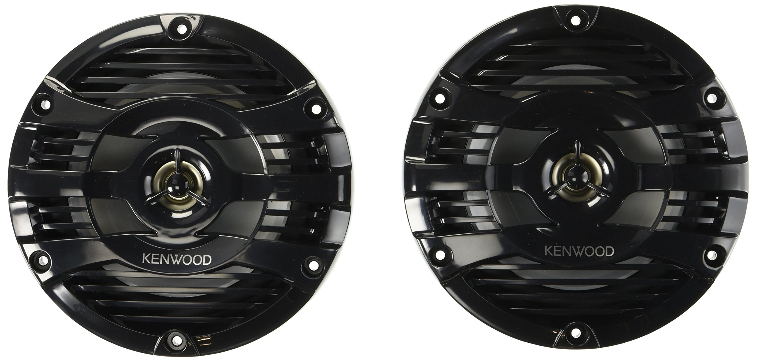 Kenwood 6.5'' Black Marine 2 Way Speakers 150 Watts