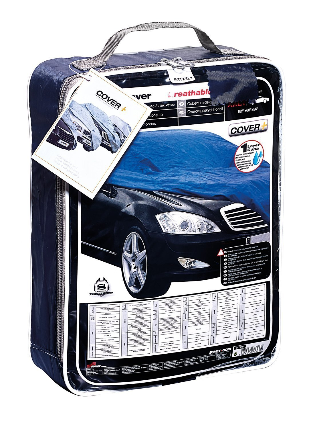Hyundai Ix35 Indoor /& Outdoor All Year Protection Breathable Full Car Cover Extra Large XXL1