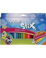 ARTLINE 131073 STIX BRUSH MARKER, 20PK