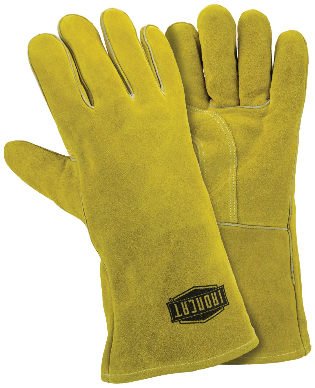 IRONCAT 9040 Insulated Slightly Select Cowhide Welding Gloves, Large (Pack of 12 Pairs)