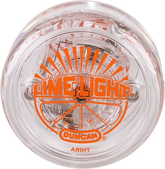 Vintage New Working Green Duncan Lighted Satellite Yo-Yo Light Up Made in USA