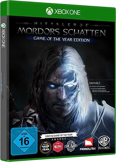Mittelerde: Mordors Schatten - Game of the Year Edition - Xbox One ...