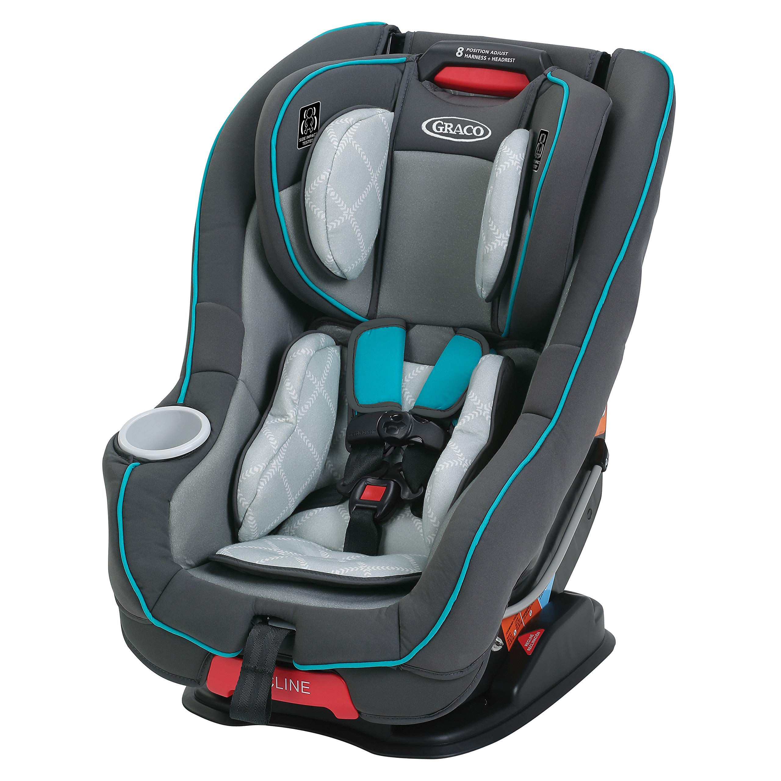 Graco Size4Me 65 Convertible Car Seat Finch