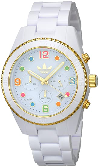 adidas Unisex ADH2945 Brisbane Analog Display Analog Quartz White Watch