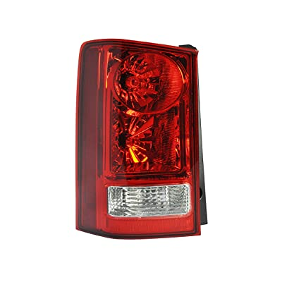 Driver Side Tail Light Assembly For 2009-2015 Honda Pilot - HO2800174 - Includes Bulbs: Automotive