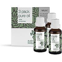 Australian bodycare tea tree oil (3x30 ml) | 100% naturlig Tea Tree olja från Australien | Mot finnar, orenheter och…