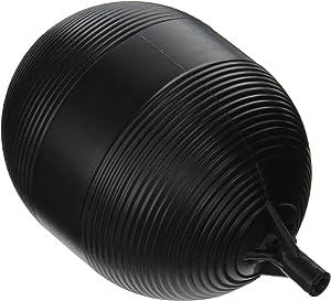 Keeeny PP9906-1 Plastic Tank Float Ball 4 inch X 5 inch, Black