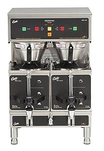 Wilbur Curtis Gemini Twin Coffee Brewer, ADS Digital, 1.5 Gal. - Commercial Coffee Brewer- GEM-12D-10 (Each)