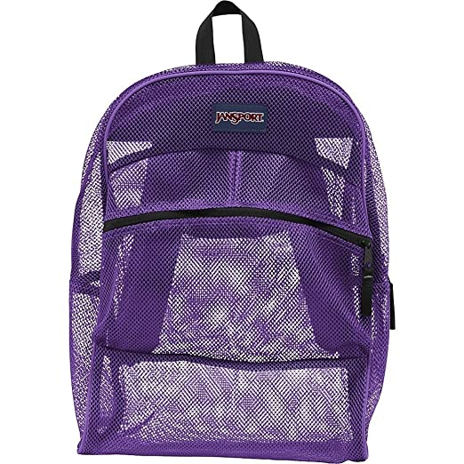 Amazon.com: JanSport Unisex Mesh Pack Flourscent Pink Backpack ...