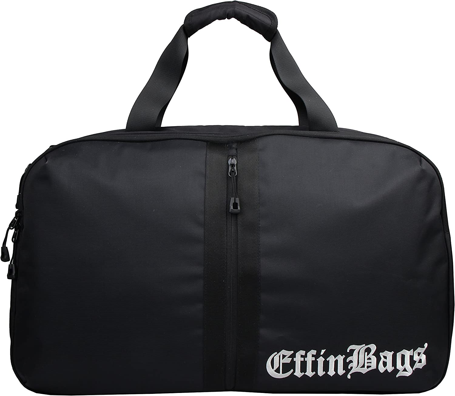 Effin World Tour Traveler Black Duffel Bag