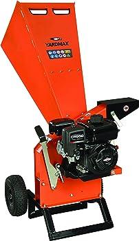 YARDMAX YW7565 3-inch Diameter Chipper Shredder for Composting