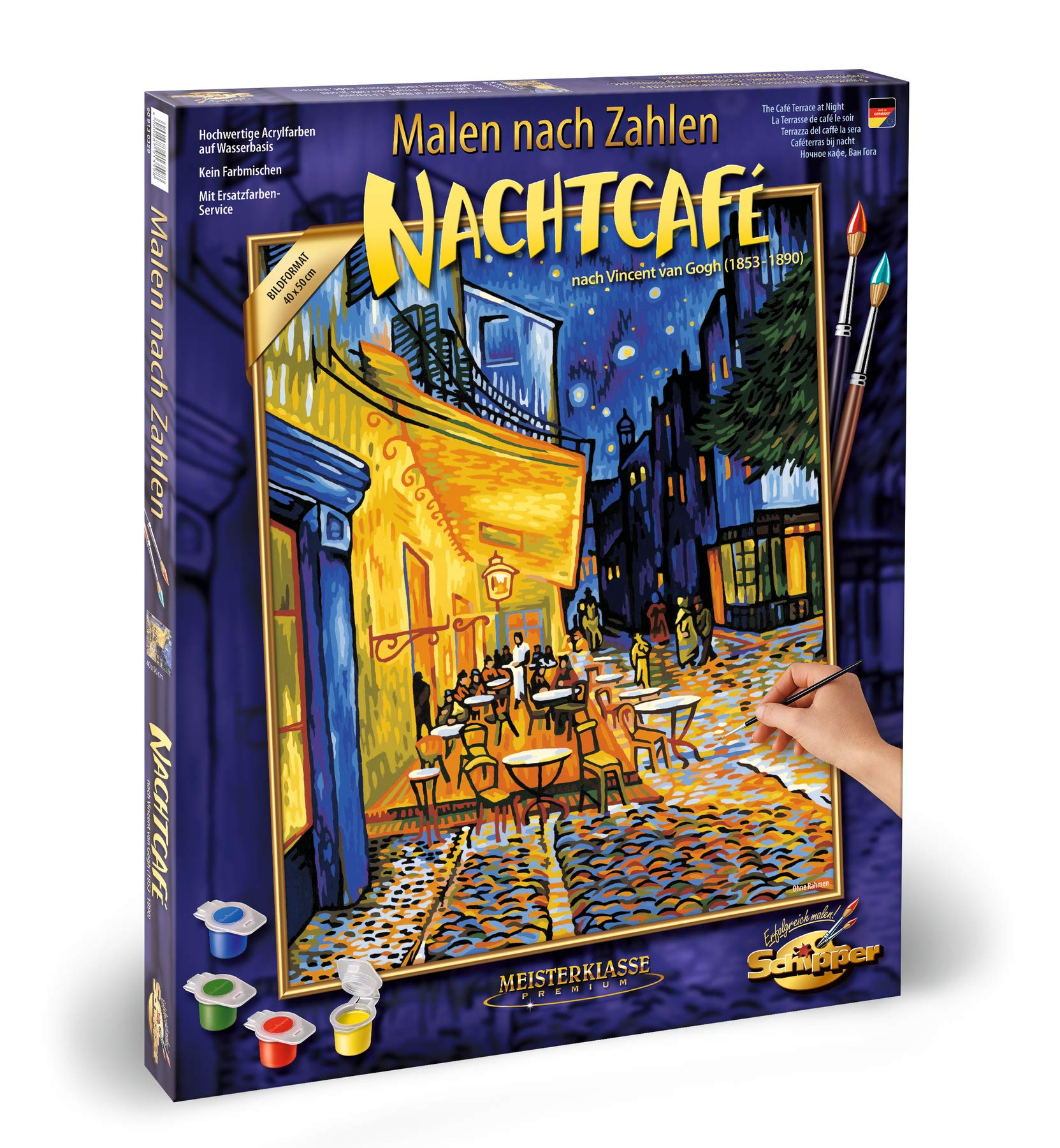 Norris Paint By#S: Nocturnal Café Paint by#