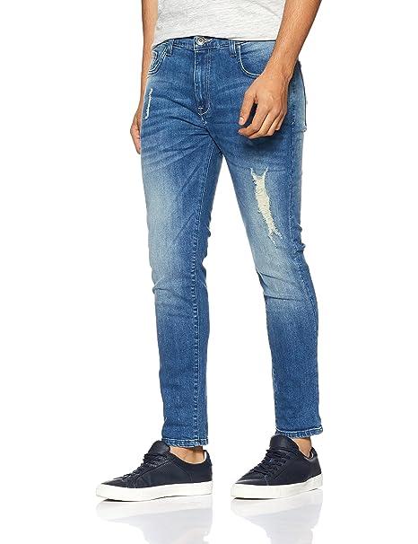 United Colors of Benetton Men s Relaxed Fit Jeans  (17A4L23R7019I90128 Blue 28) aefa82de5c18