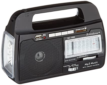 Review Supersonic SC1082 Portable Radio