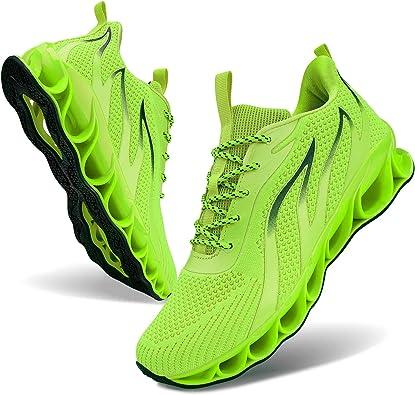 Men Athletic Shoes Mesh Blade Running Walking Sneaker