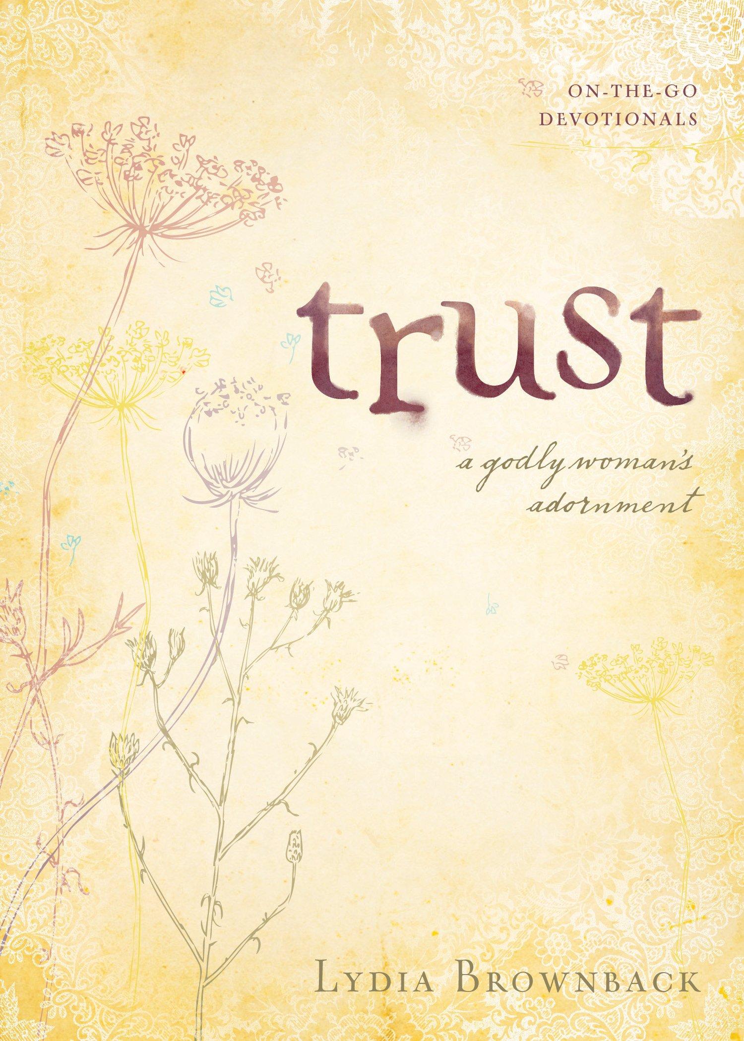 Trust Womans Adornment Go Devotionals product image