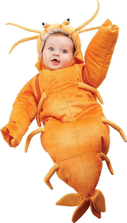 Arsmt Childrens Happy Shrimp Sleeve Short Top Baby Boys