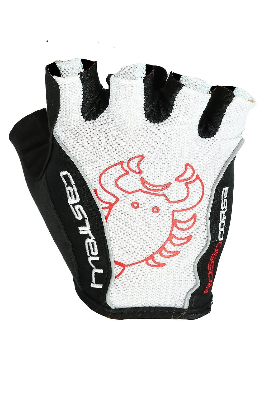 Castelli rot Corsa Classic Handschuhe