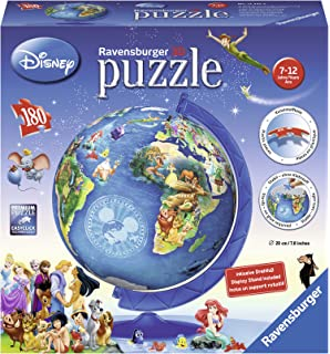 Ravensburger mickey and minnie eiffel tower 3d puzzle 216 pieces ravensburger disney world map 3d puzzle 180 pieces gumiabroncs Images