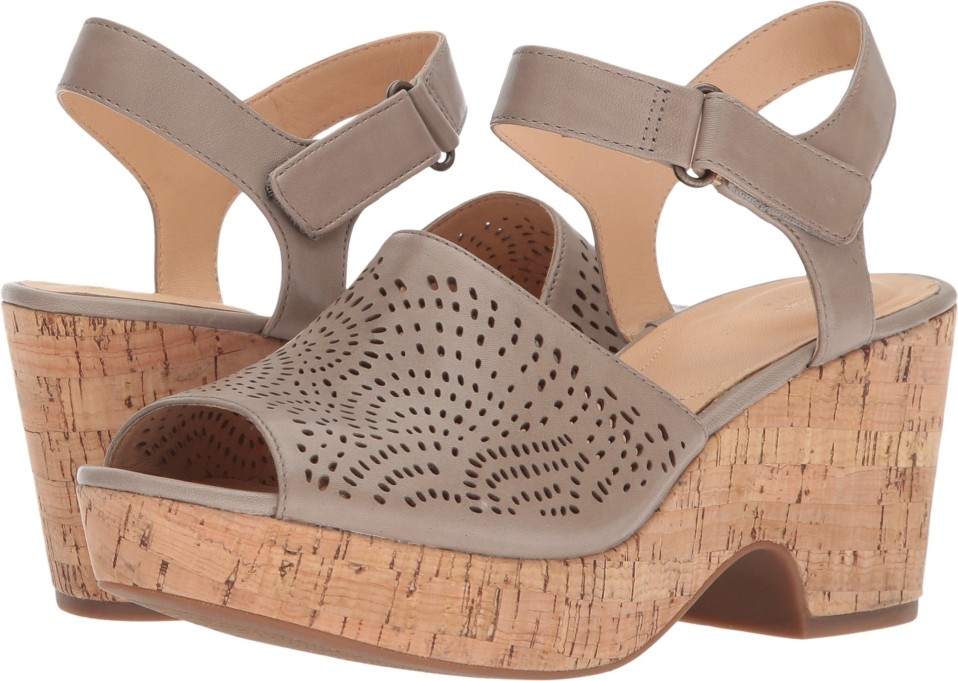CLARKS Women's maritsa Nila Sand Leather 9.5 D US