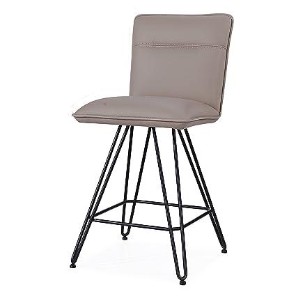 Astonishing Amazon Com Benzara Bm187623 Metal Leather Upholstered Pdpeps Interior Chair Design Pdpepsorg