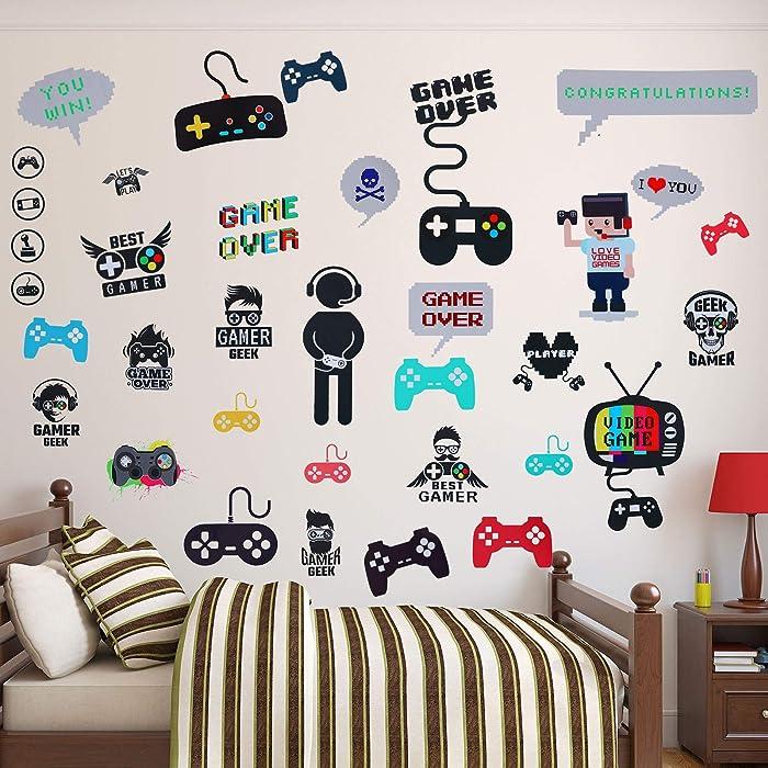 Top 10 Video Gaming Wall Decor