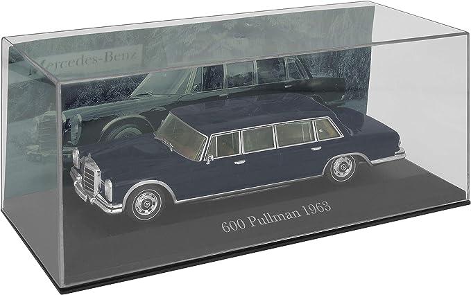 Altaya By Ixo Modellauto Typ Mercedes Benz 600 Pullmann 1963 1 43 W100 W 100 Dunkelblau Spielzeug