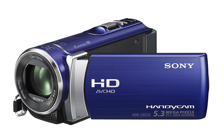 amazon com sony hdr cx210 high definition handycam 5 3 mp rh amazon com sony handycam hdr-cx210 manual Sony Dcr Handycam HDR