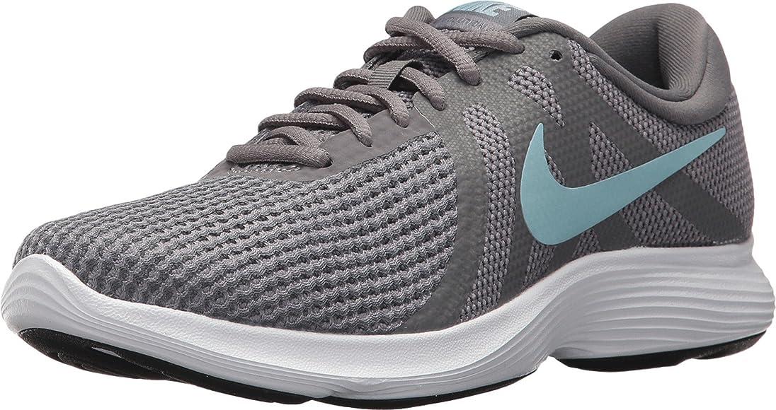 NIKEAH8799 - Nike Revolution 4 Ancha para Mujer Mujer, Gris ...