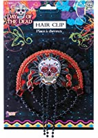 Day Of The Dead Skull Hairclip